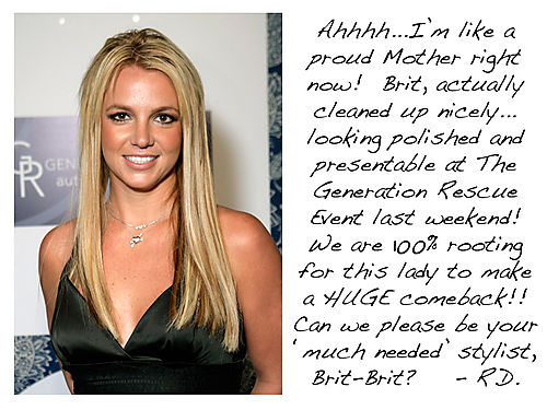 Fashion Flash - Britney Spears Lookin Good at Generation Rescue Event