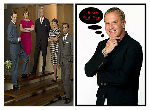 Mad men and michael kors' love for them